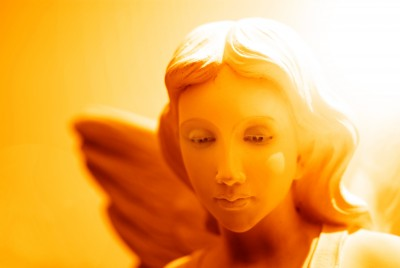 angel with light