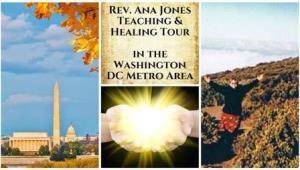 Fall Teaching and Healing Tour 2017 in Washington DC - October 20 - Nov. 13, 2017