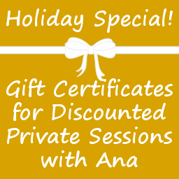holiday special gift certificates